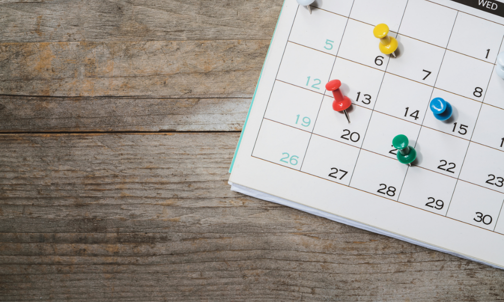 Calendario de marketing para tiendas online 2021